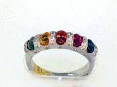 Women's Colored Gemstone Ring 247-00351