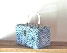 straw box purse from Etsy