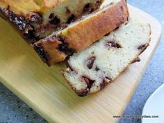 Chocolate Chip Banana Bread  #ThingsMyBellyLikes