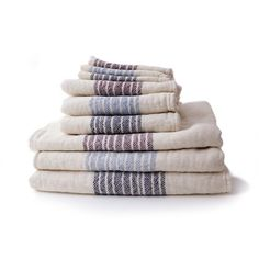 Luxurious organic towels that are as soft and silky as cashmere yet durable enough for everyday use.
