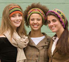 Free Pattern: Folksy Headbands by Kristin Nicholas