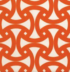 Santorini Print Fabric - modern - outdoor fabric - F. Schumacher & Co.