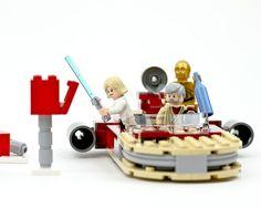geek, funny star wars, lego star wars, baseball, stars, starwar, scene, legos, mailbox basebal