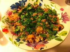 Flat Footed Foodies: Israeli Couscous with vegetables