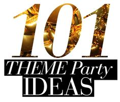 101 themed party ideas