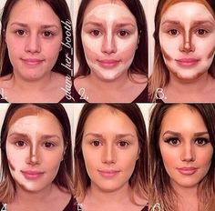 Contouring before an