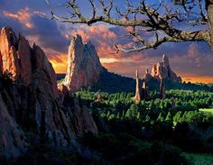 Morning Light, Garden Of The Gods (Colorado) by John Hoffman
