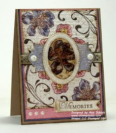 The Stampin' Schach: Vintage Regional Card and Card Winner