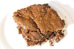 Gorgeous Chocolate Orange Brownie. vegan, glutenfree :)