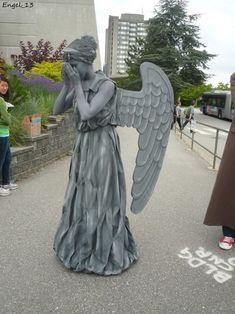 Weeping Angel Halloween costume? Don't even blink!