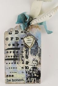Suzz's Stamping Spot: One More Tag scrap atctagsbookmark, stamp spot
