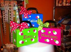 personalized lunch snack box