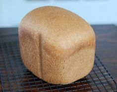 Plan to Eat - Honey Whole-Wheat Sandwich Bread (for bread machine) - 100daysofrealfood