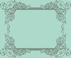 vintage frames borders & ornaments