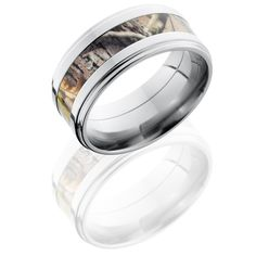 Realtree Groved Edge Ring