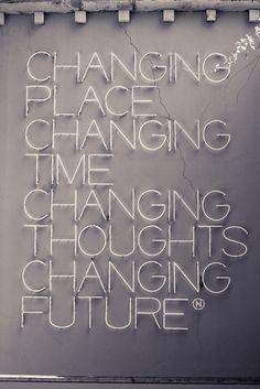 Changing.