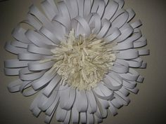 Large Paper Flower  I could make this