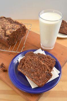 #vegan double chocolate coconut banana bread