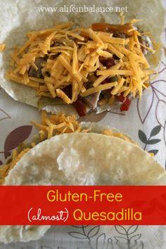 Gluten-Free Quesadilla