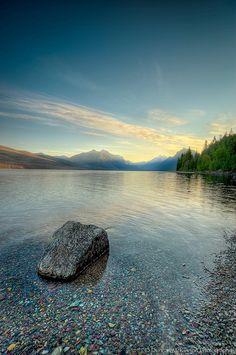 McDonald Lake, Montana..