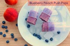 Blueberry Peach Push Pops | Blog
