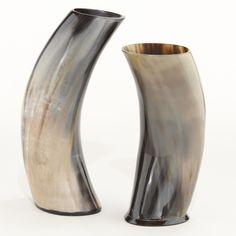 Horn Vases, Set of 2   World Market
