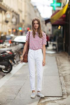 Carolines Mode | StockholmStreetStyle red stripe