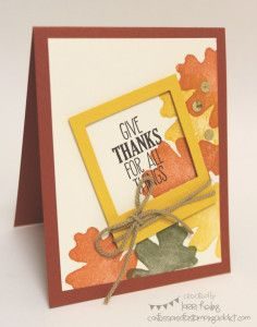 Founder's Circle! :: Confessions of a Stamping Addict All for Fall Lorri Heiling (CASE of Mary Fish)