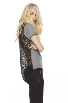 LNA Clothing - LACEY TEE. $73