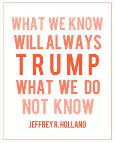 Jeffrey R. Holland print
