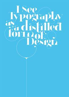 Paris typeface poster