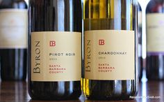 The Reverse Wine Snob: Byron Santa Barbara County Chardonnay and Pinot Noir - Easy. Easy to drink and easy to find, both of these wines are an easy choice. http://www.reversewinesnob.com/2014/07/byron-santa-barbara-county-chardonnay-pinot-noir.html  #wine #winelover