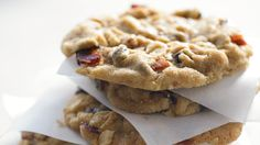 Bacon, Peanut Butter, and Chocolate Chunk Cookies chunk cooki, peanut butter