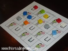 Reading the Alphabet: Letter L {Lesson 12} | This Reading Mama