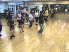 Gangnam Style - Line Dance (Demo & Walk Through)