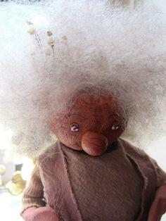 CIJ  Vintage Troll Doll  Scandinavian Doll by JewelsOfHighElegance, $17.50