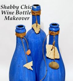 Empty Wine Bottle Craft Ideas