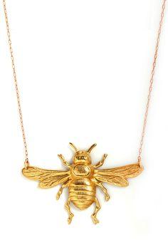Erica Weiner bee necklace