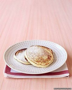 Orange-Ricotta Pancakes Recipe