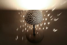Wall lamp Claylight Sconce  Line Pattern  On Sale by lightexture, $149.00