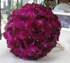 Orchid Bride's Bouquet