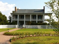 This is Carnton Plantation, a beautiful example of antebellum splendor of the Old South.  It was home of the McGavock family.  It was used as a hospital during the Battle of Franklin.  It was also the home of Carrie Winder McGavock, who was known as the Widow of the South.  For our out of town friends this plantation is well worth the detour just to hear the stories...;-)