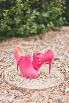 Christian Louboutin booties (photo by Sweet Little Photographs)