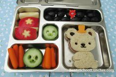 Bear school lunch.