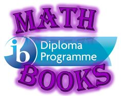 Find the DP Math Books you need here.