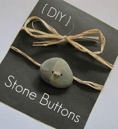 Stone button.
