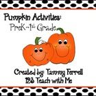 This packet has activities that you can use when teaching a unit on pumpkins. Activities include:Graphing, Writing, Using Your Senses, Math Cards,...