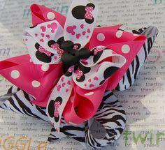 Mix Minnie stuff with zebra print?