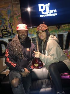 Dough From Da Go and Brooke Mackie @ the #DefJam #Undisputed Docuseries Viewing & Listening Session Held @ Drink Haus Chicago