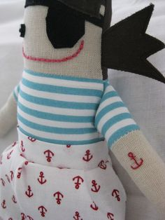 Pirate Doll with Tattoos